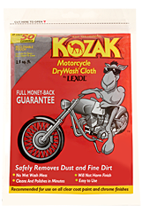 Motorcycle Dry Wash